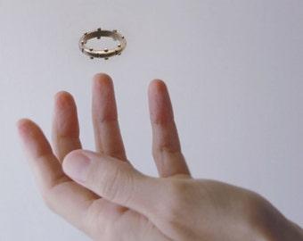ENLUMINURE // No9 // bronze ring