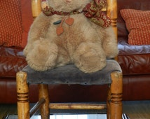 Vintage Old Teddy Bear 1970s. GUND 16.5 inch Cuddly Collectable Plush Teddy Bear good condition Fully Mobile limbs  Heirloom Granddaughter