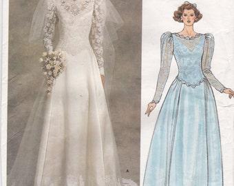 Items Similar To Vintage Vogue Pattern 1677 Bridal Original Wedding Gown Bridesmaid Dress
