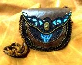 "Women's Leather handbag ""Freya"" (22*19*7 cm)"