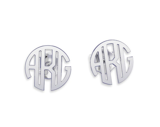 Monogram earrings Personalized Earrings, letter earring initial earring, custom earrings, bridesmaids gifts, bridesmaid earrings