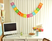 Happy Birthday - Banner - Bunting - Decoration
