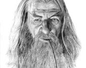 GANDALF pencil drawing