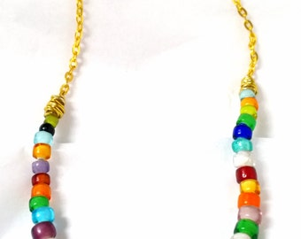 Summer Rainbow Necklace
