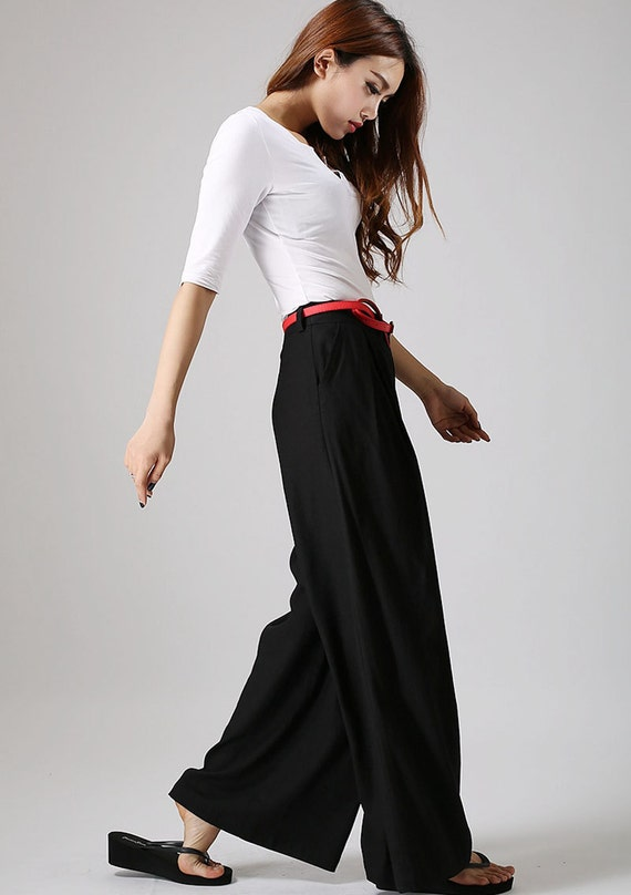 Wide Leg Pants-Slacks-Palazzo Pants-Boho Pants-Gypsy