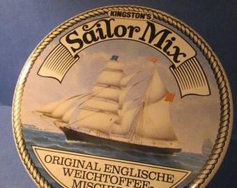 Kingston's Sailor Mix Original English Toffee Tin