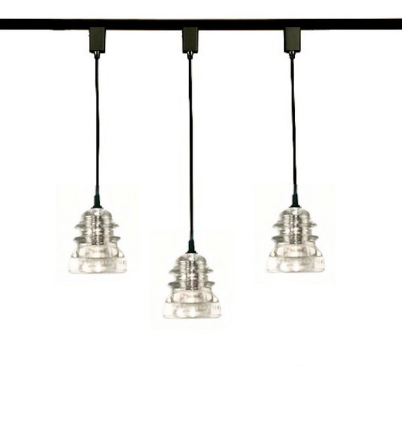 Items Similar To Custom Track Lights Insulator Pendant