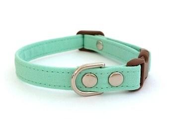 Mint Dog Cat Collar