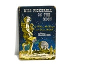 """Vintage Space Age Fiction """"Miss Pickerell on the Moon"""" Childrens Novel Youth Chapter Book"""