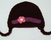MADE TO ORDER Doc McStuffins Inspired Hat: Baby to Adult Custom Hat - Handmade and Crocheted with Love