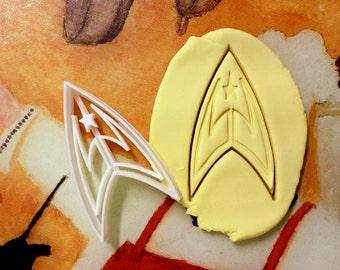 Startrek Star Trek Cookie Cutter
