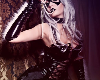 Marvel Black Cat cosplay print - signed by Bellatrix Aiden