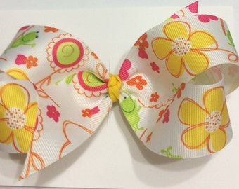 Girls Frog Bow