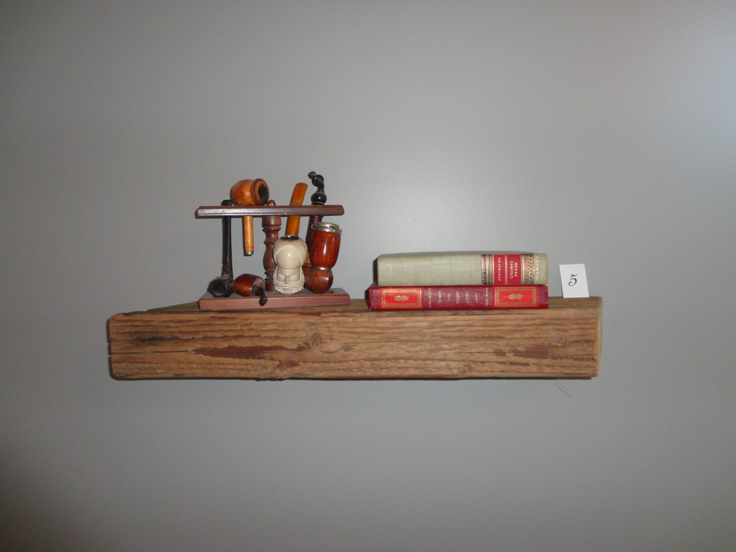 Superb img of Over 100 YEAR OLD Barwood Shelves Barn Wood by FHABfurnishings with #9C322F color and 1500x1125 pixels