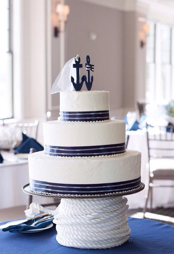 Royal Marine Wedding Cake Toppers