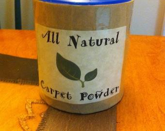 All Natural Carpet Powder