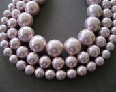Beautiful Soft Pink Round Shell Pearl Faux Pearl Not Glass Pearls 8mm 10mm
