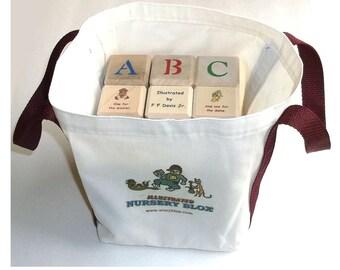 Large Illustrated NurseryBlox Bagged Set