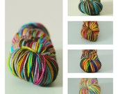 PRE-ORDER Self-striping sock yarn