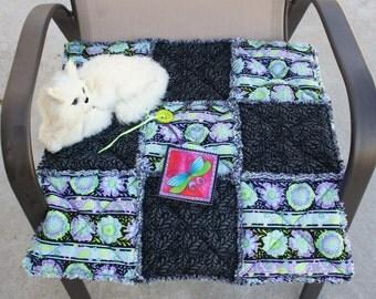 Cat Blanket, Fabric Cat Mat, Cat Bed, Travel Cat Mat, Catnip Mat, Luxury Cat Bed, Colorado Catnip Bed, Cat Quilt, Small Dog Bed, Cat Nip Bed
