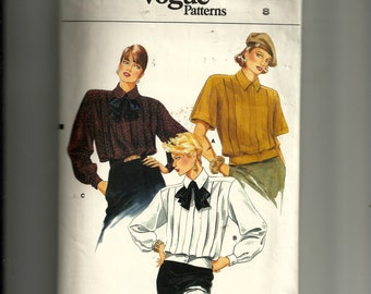 Vogue Misses' Blouse Pattern 9384