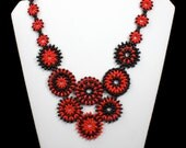 Red or Black Necklace