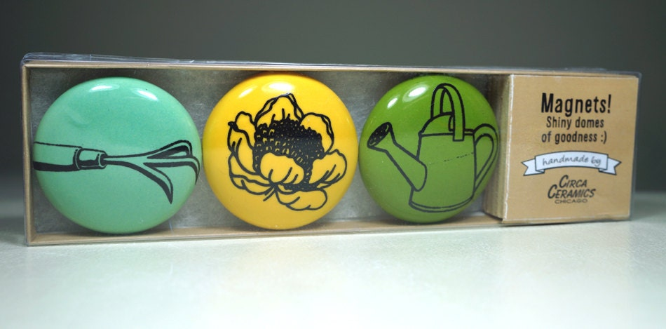 magnet set for the gardener. (3pk)