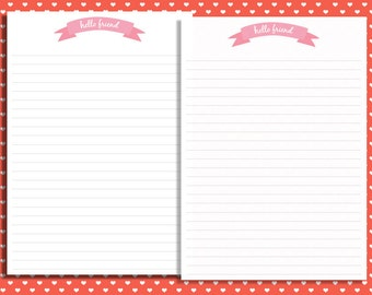 Where can I buy letter-writing stationary?