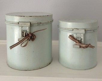 Vintage Canisters Farm and Beach
