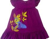 Luna Moth Baby Toddler Girls Organic Dress - Direct Checkout