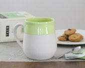 SALE Naked Mug in Bright Green