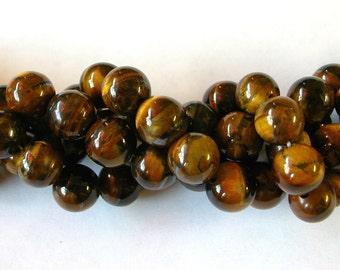 8mm Tiger Eye Beads