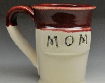 Gift for Mom Stoneware Clay Pottery Mug