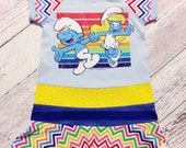 Jam Clothing Co.  Smurfs upcycle dress 3/4