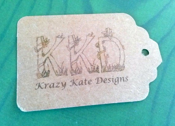Business Tags, Set of 50, Product Tag, Personalized Tags, custom printing