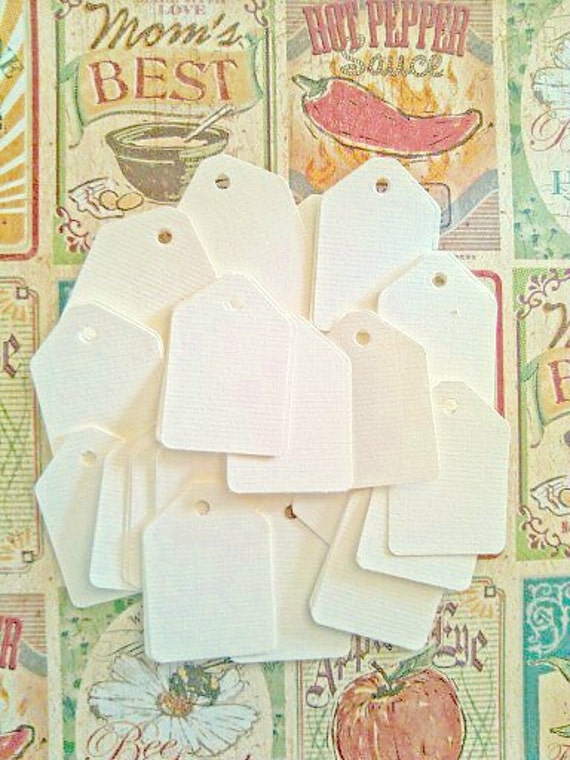 Gift Tags, Price Tags, Set of 50, Shipping Tag, Wedding Favor