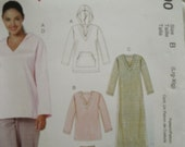 Easy stitch & save pattern for winter lounge or sleepwear - M6190 Large to Extra Large