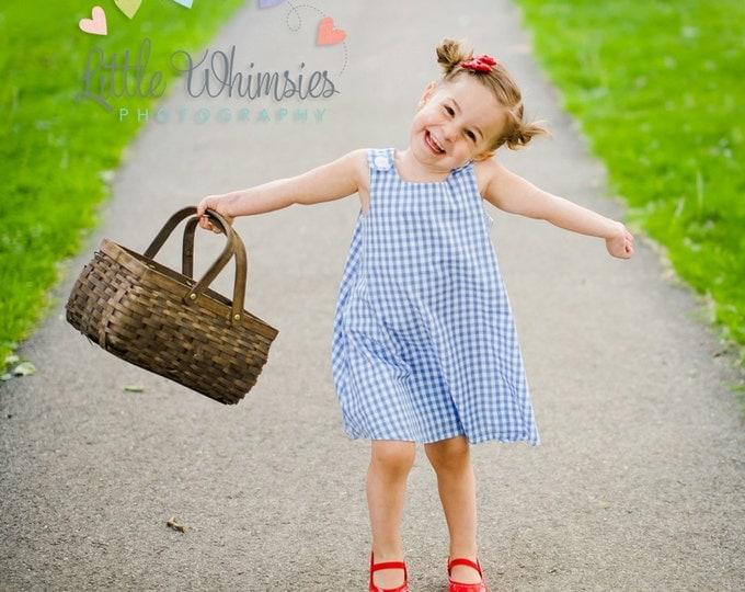 Dorothy Wizard of Oz Dress, Dorothy Dress, Dorothy Halloween Costume, Wizard of Oz Costume, Girls Dress, Girls Costume, Toddler Costume