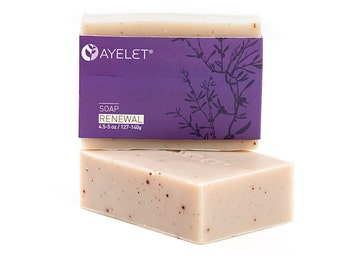 Renewal -Triple Action Soap Bar with Juniper, Vegan Friendly