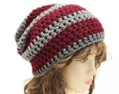 Slacker Slouchy Beanie Crochet Hipster Hat You Pick the Colors