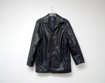 LEATHER REBEL . black jacket . extra small