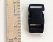 "Side Release BUCKLE - Single Adjusting - 1"" x 2 1/2"" - 5 Pieces"