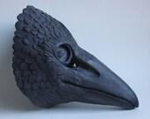 Cast Resin Three Eyed Crow Raven Mask based on original sculpt