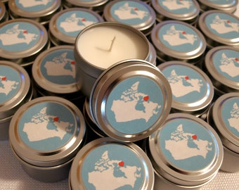 Favor Gift Travel Candle Sample