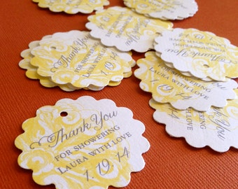 Wedding Party Favor Tags, sets of 20