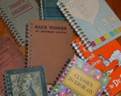 Rebound Book Journal--Your Choice--Studio Clearance