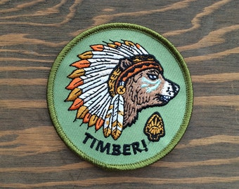 CHIEF iron-on PATCH