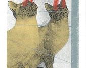 Lazer CatsPrint by Print Mafia