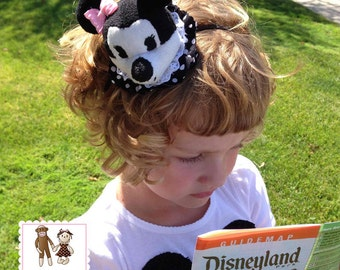Minnie Mouse Hat Band by Chic Baby Rose