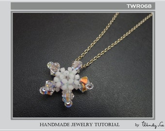 Starfish Pendant Tutorial TWR068